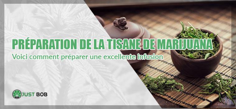 Tisane à la marijuana: voici comment préparer une excellente infusion