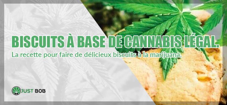 biscuits au CBD: cookies de cannabis légal