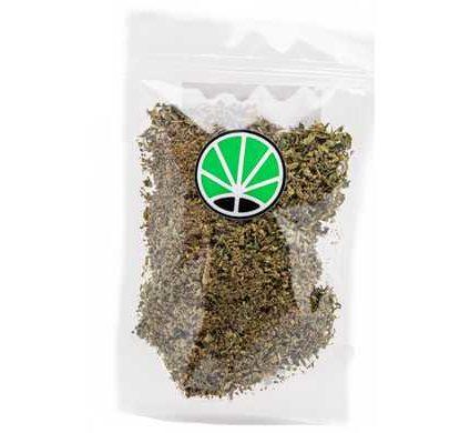 sieved orange cbd fleur de marijuana